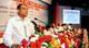 বক্তব্য প্রদান করছেন মাননীয় ভূমি মন্ত্রী জনাব সাইফুজ্জামান চৌধুরী
